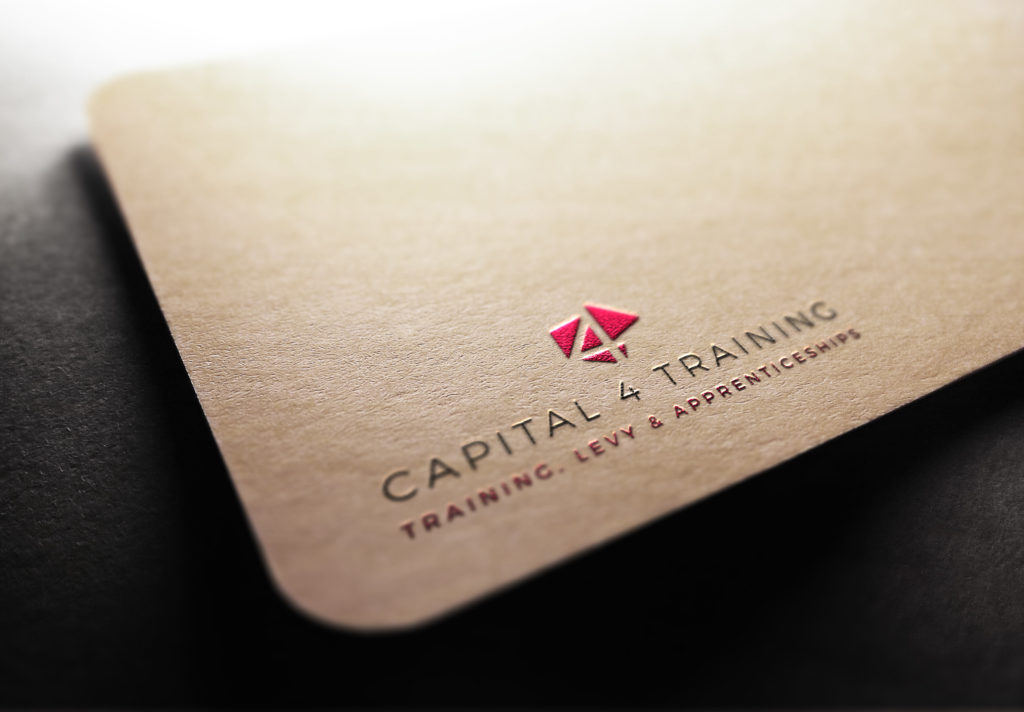 Capital 4 Training Business Card