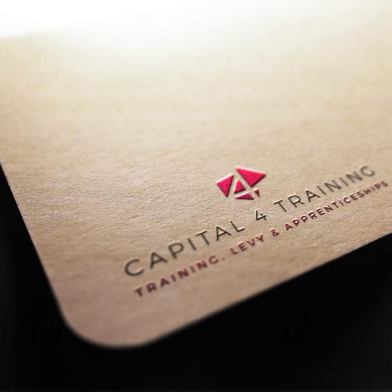 Capital 4 Training Business Card