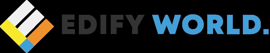 Edify World 2020 Logo Idea